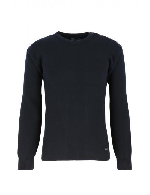 Stickad ulltröja Knitted wool sweater